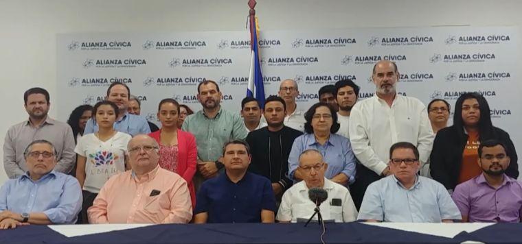 Carta abierta a la Alianza Cívica.  De Luis Carrión C.